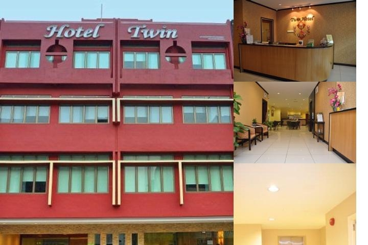 Twin Hotel photo collage