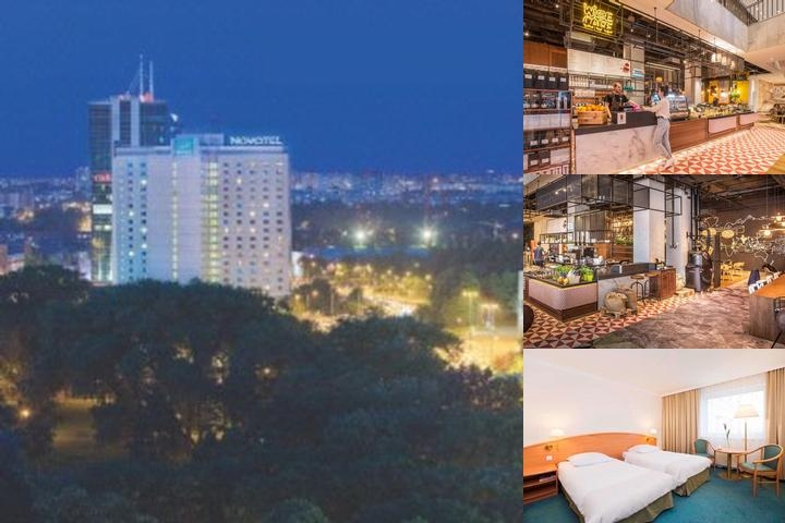 Novotel Poznan Centrum photo collage