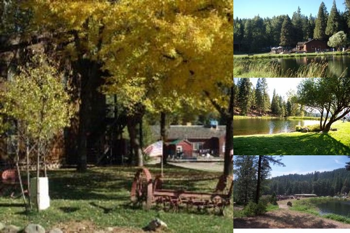 Greenhorn Creek Guest Ranch photo collage