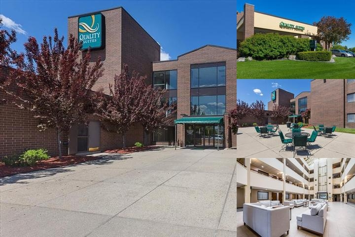 Quality Suites Lansing photo collage