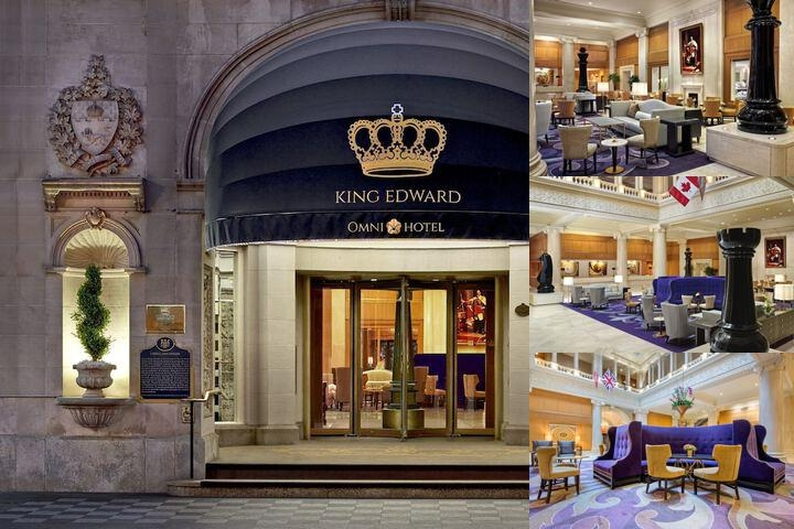 The Omni King Edward Hotel photo collage