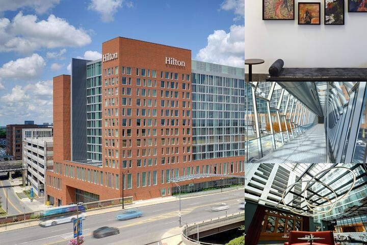 Hilton Columbus Downtown photo collage