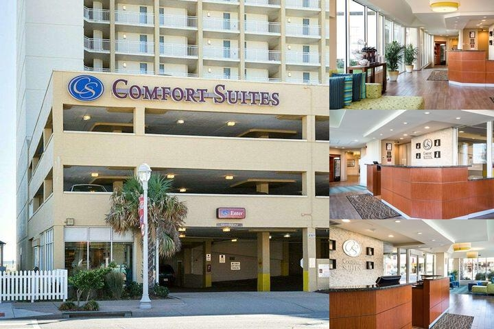 Comfort Suites Beachfront photo collage