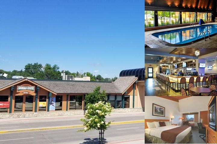 Best Western Sheridan Center photo collage