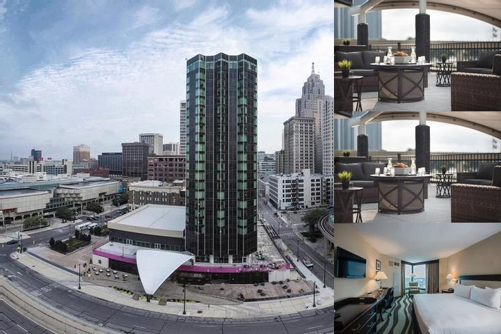 Crowne Plaza Detroit Downtown Riverfront photo collage