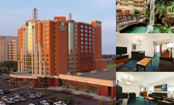 Embassy Suites Hotel Anaheim South photo collage