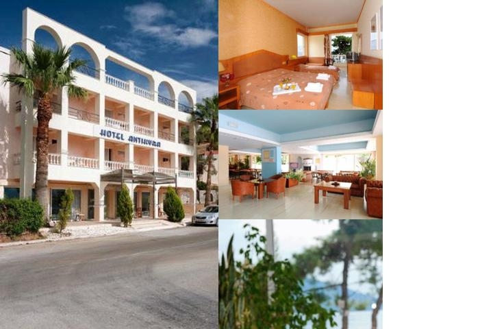 Antikyra Beach Hotel photo collage
