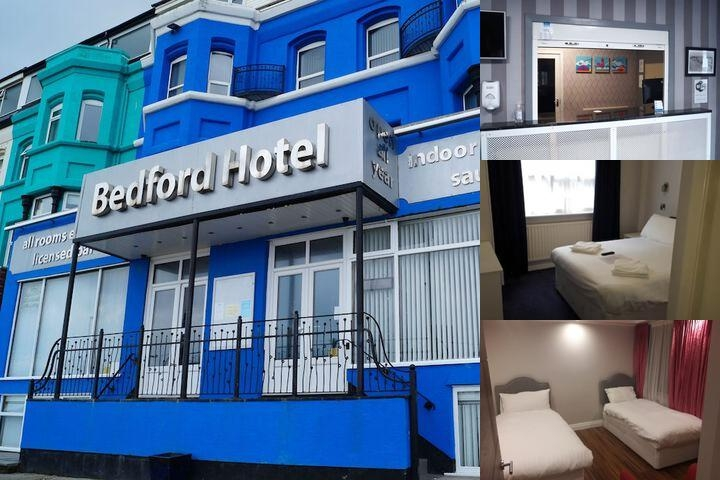 The Bedford Hotel photo collage