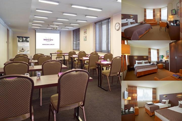 Mercure Warszawa Airport photo collage