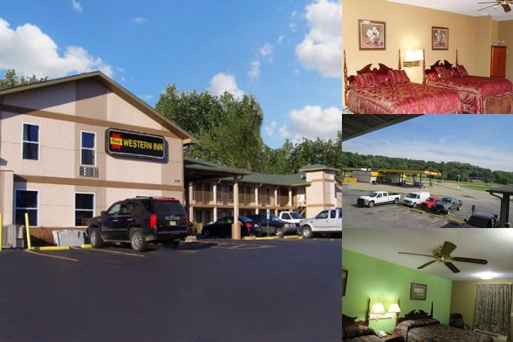 First Western Inn photo collage