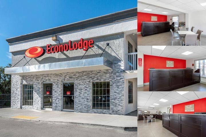 Econo Lodge Raymond James photo collage