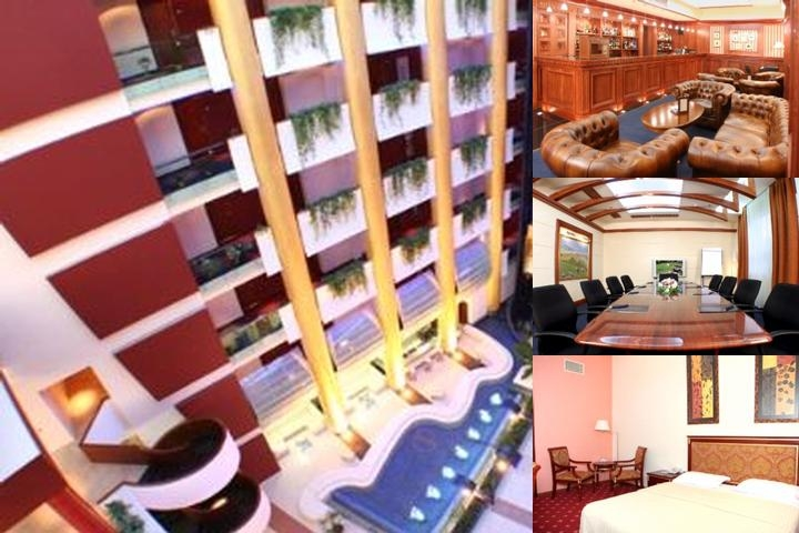 Golden Palace Hotel Yerevan photo collage