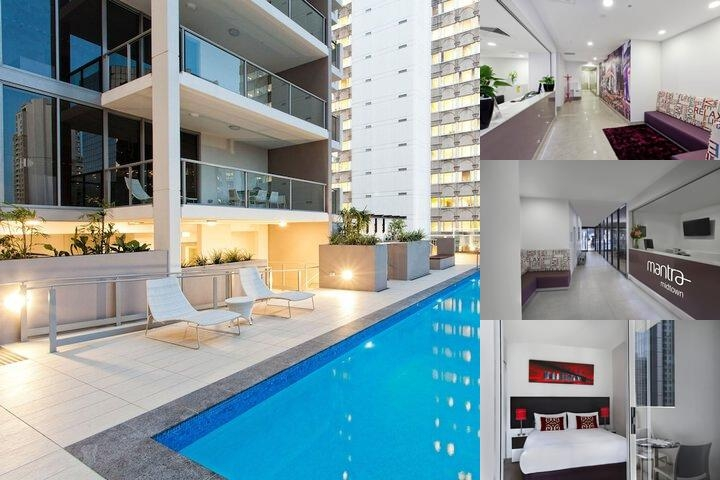 Midtown Apartments Brisbane photo collage
