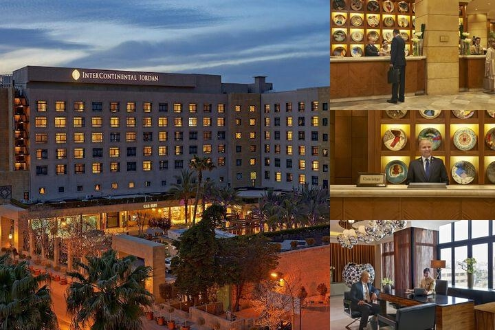 Intercontinental Amman Jordan photo collage