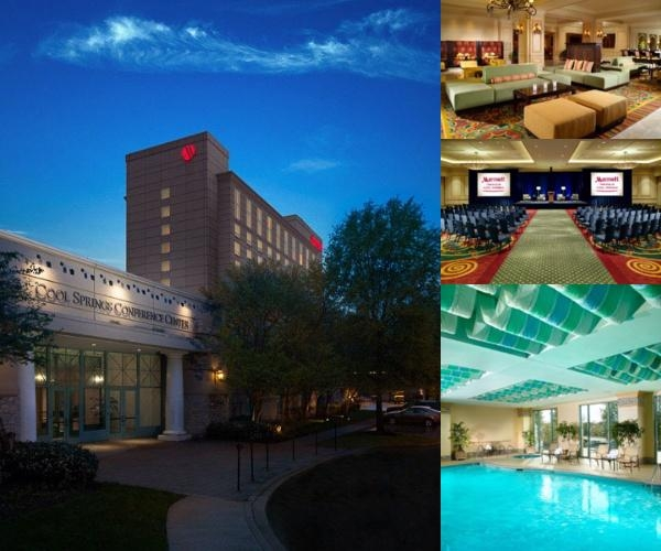 Franklin Marriott Cool Springs photo collage