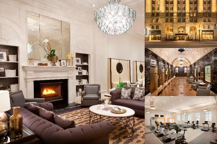 Hilton New Orleans / St. Charles Avenue photo collage