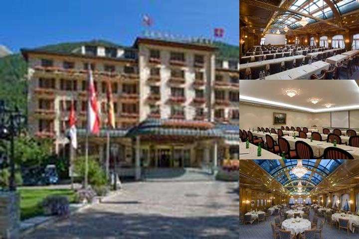 Grand Hotel Zermatterhof photo collage