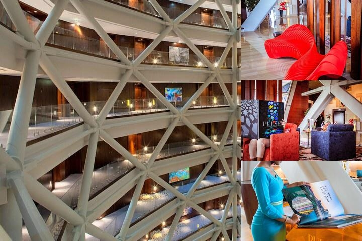 Hyatt Capital Gate Abu Dhabi photo collage