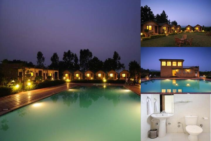 Corbett Adventure Resort photo collage