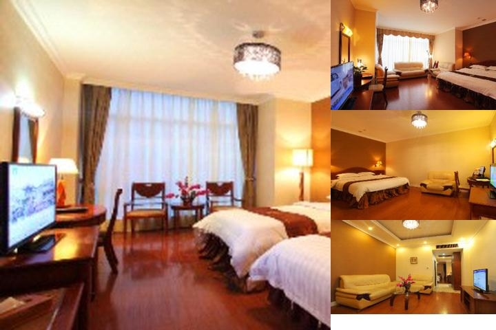 Yingfeng Business Hotel photo collage