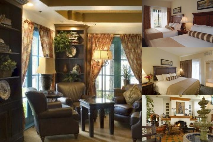 Oxford Suites Pismo Beach photo collage