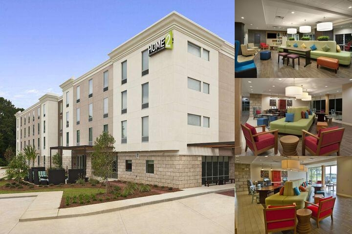 Home2 Suites Ridgeland photo collage