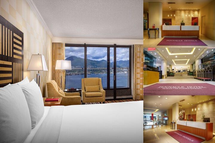 Pinnacle Hotel Vancouver Harbourfront photo collage