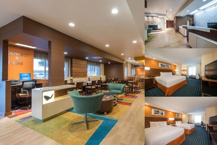 Fairfield Inn Suites by Marriott Dallas Lewisville photo collage