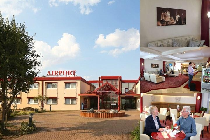 Airport Hotel Erfurt photo collage