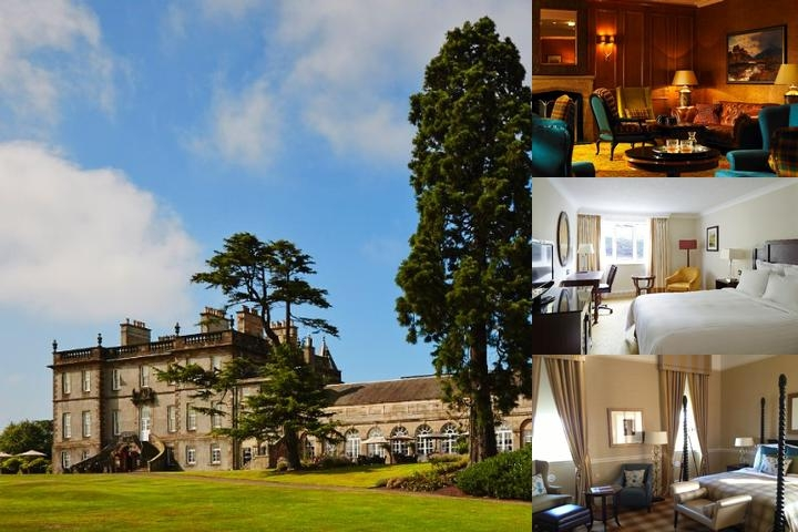 Dalmahoy a Marriott Hotel & Country Club photo collage