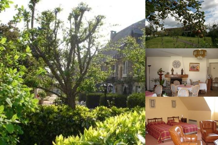 Manoir D'hastings Hotel La Pommeraie photo collage