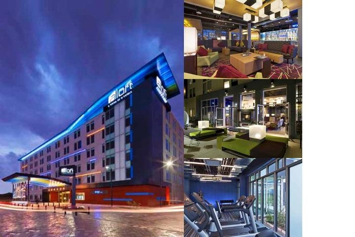 Hotel Aloft Bogota photo collage