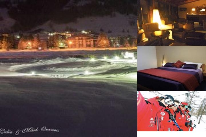 Ski Jumping Hotel photo collage