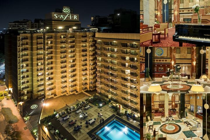 Safir Hotel Cairo photo collage
