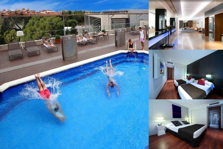 Amura Alcobendas Hotel photo collage