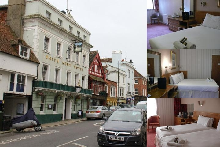 The White Hart Hotel photo collage