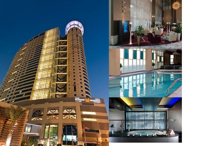Grand Millennium Al Wahda Hotel Abu Dhabi photo collage