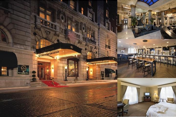 The Seelbach Hilton Louisville photo collage