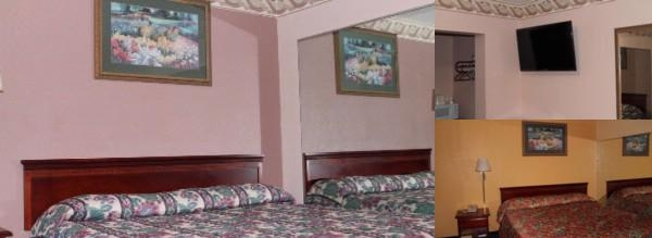 American Motor Inn photo collage
