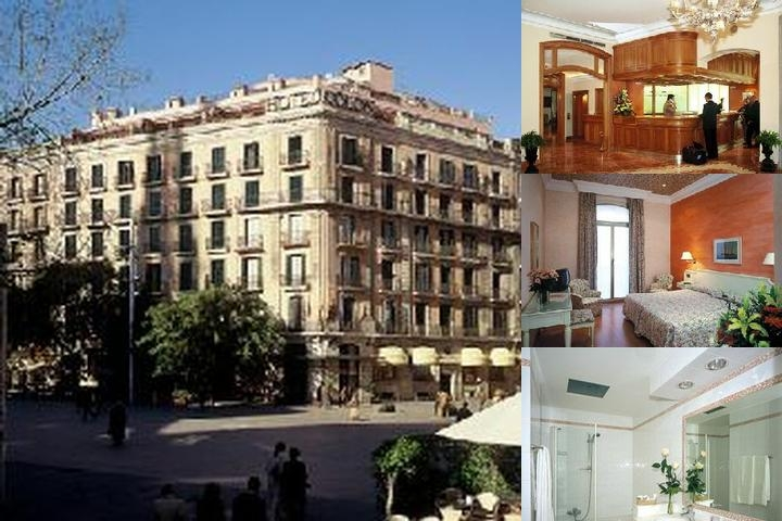 Hotel Colon Barcelona photo collage