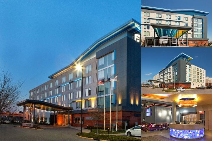 Aloft Chesapeake photo collage