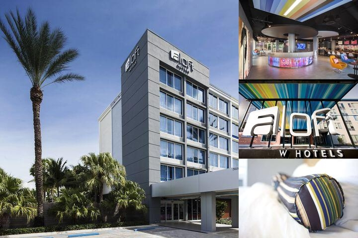 Aloft Miami Dadeland photo collage