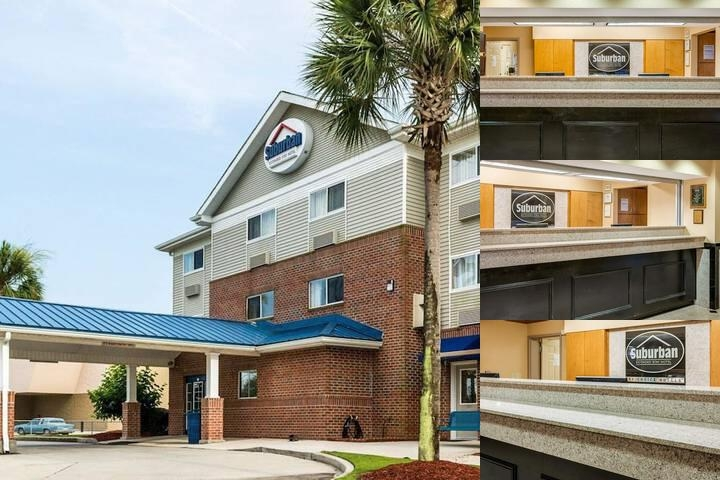 Suburban Extended Stay Hotel photo collage