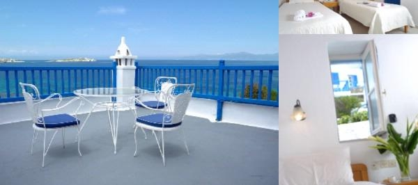 Mykonos Beach Hotel photo collage