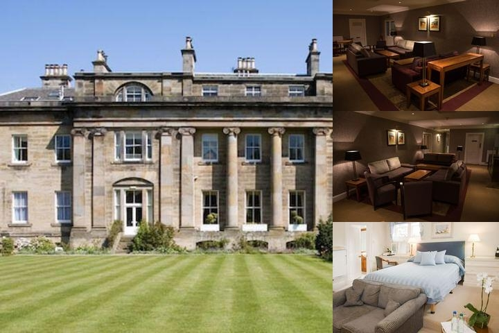 Balbirnie House photo collage