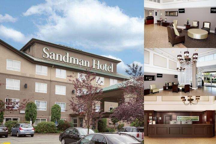 Sandman Langley Hotel photo collage