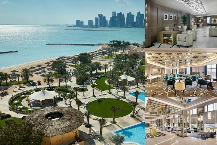 Intercontinental Doha photo collage