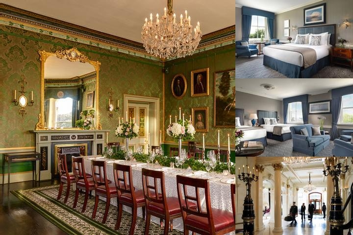 The Shelbourne Dublin a Renaissance Hotel photo collage