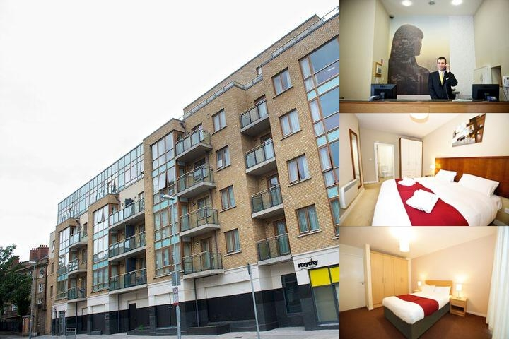 Staycity Serviced Apartments Dublin photo collage