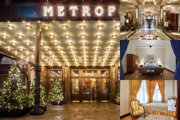 Hotel Metropol Moscow photo collage